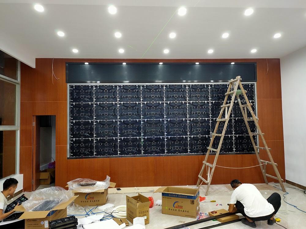 室内高清全彩LED显示屏